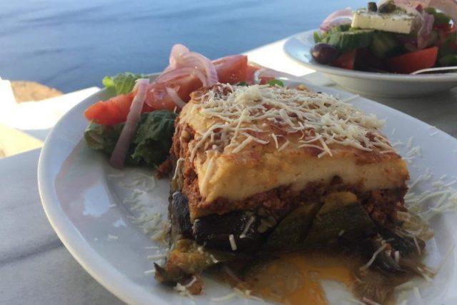Musaca comida griega
