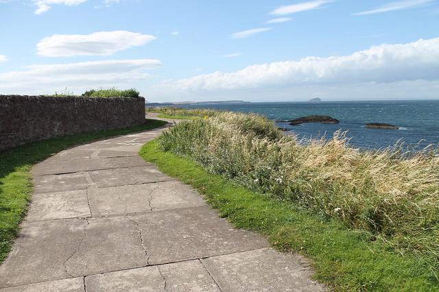 Paseo de Dunbar Escocia