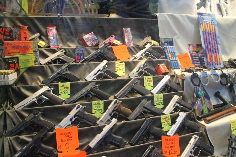 Pistolas en Hamburgo