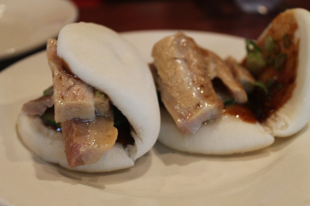 Pork belly bun Ssam Bar Nueva York