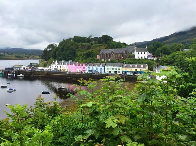 Portree Isla de Skye Escocia