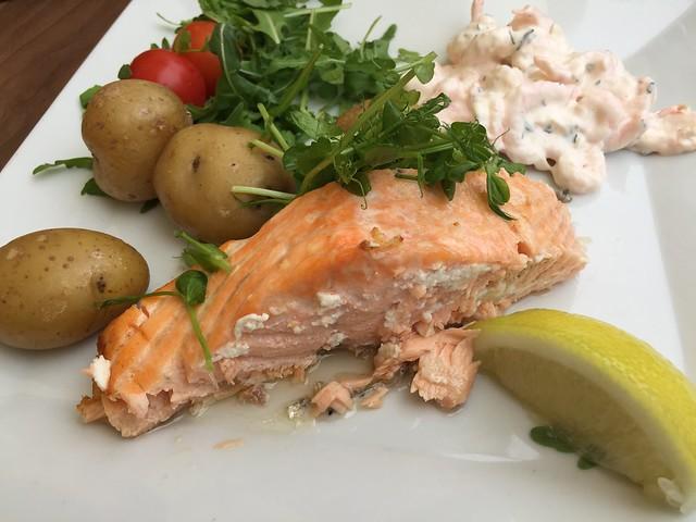 Salmon sueco Malmo