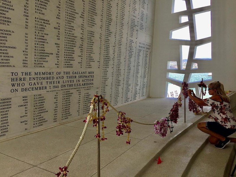Santuario USS Arizona Memorial Pearl Harbor