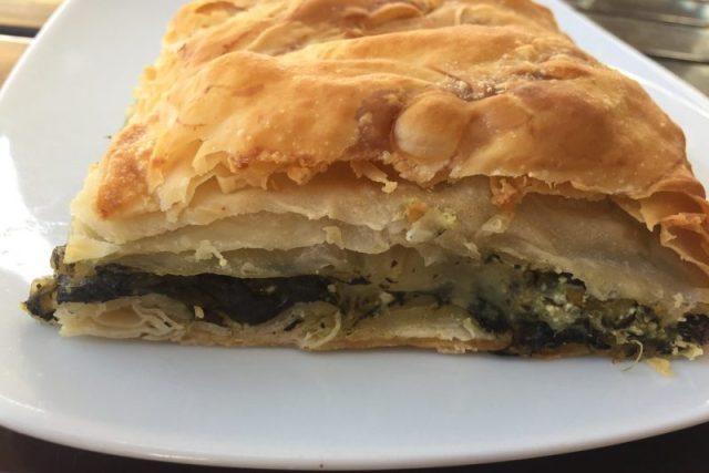 Spanakopita Gastronomía griega