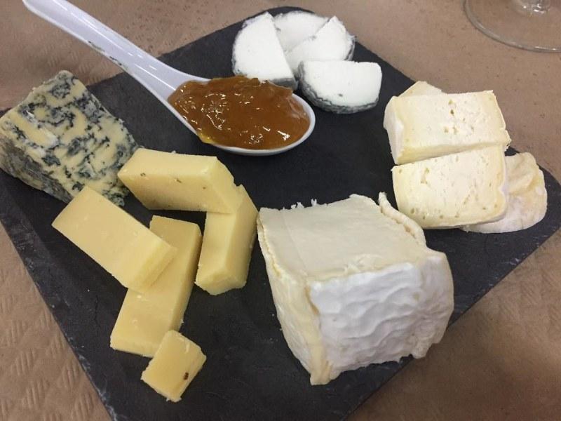 Tabla de quesos Rias Baixas Gijon Asturias
