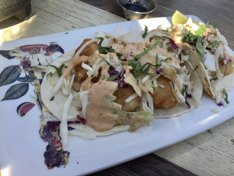 Tacos Baja California en El Catrin Destileria Toronto Canada