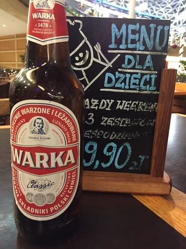 Warka cerveza polaca