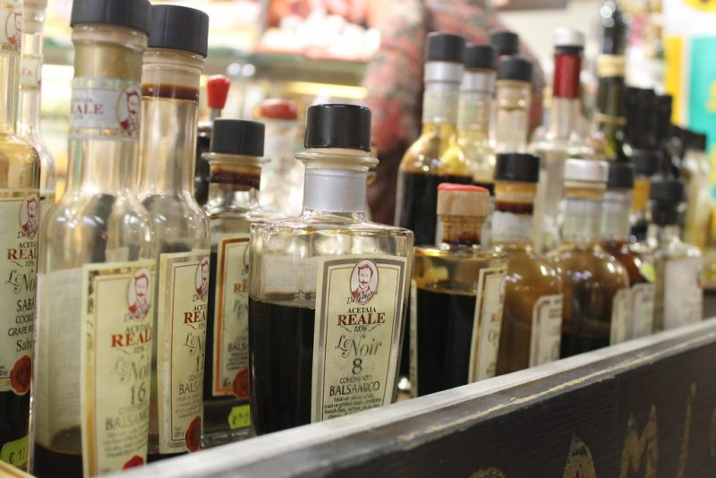 Aceto balsamico Mercado Central de Florencia