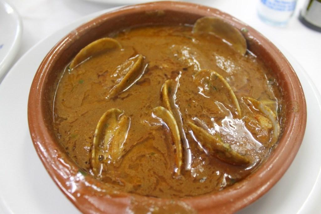 Almejas de Carril La Pepica Valencia