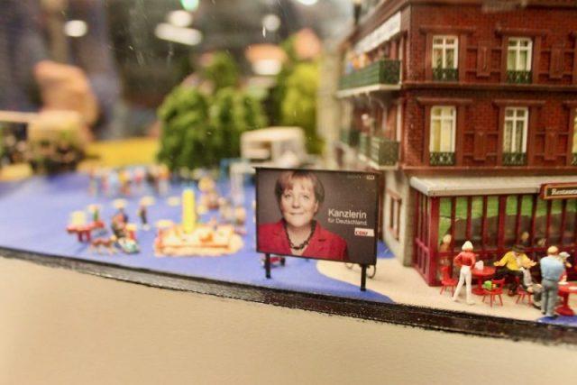 Angela Merkel Miniatur Wunderland