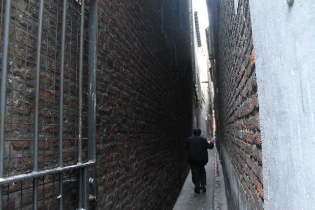 Calles de Lieja Belgica