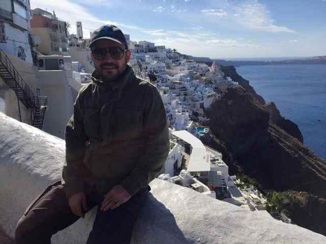 Casas blancas Santorini