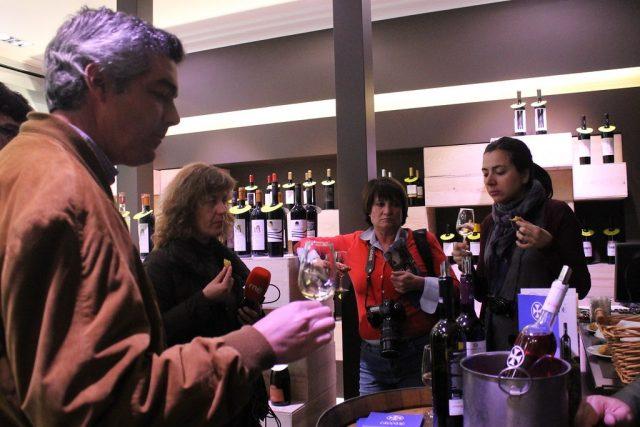 Cata de vinos Bodegas Comenda Grande