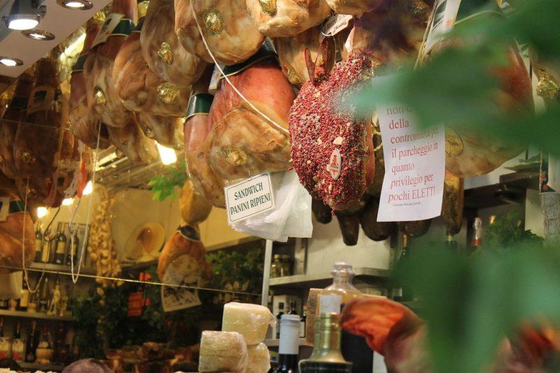 Charcuteria Mercado Central de Florencia