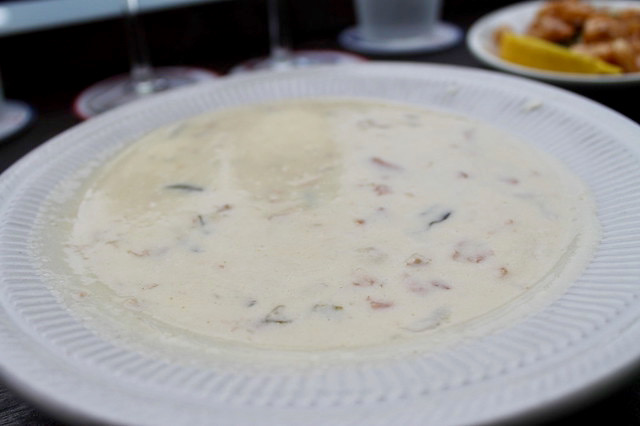 Clam chowder Marthas Vineyard