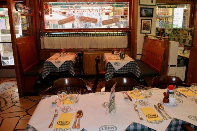 Comedor Chez Leon Bruselas
