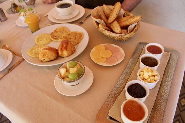 Desayuno Riad Abracadabra Marrakech