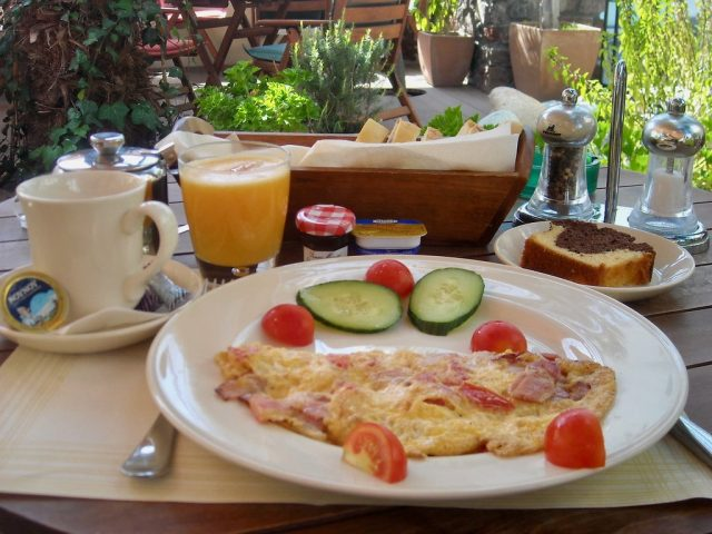 Desayuno Santorini