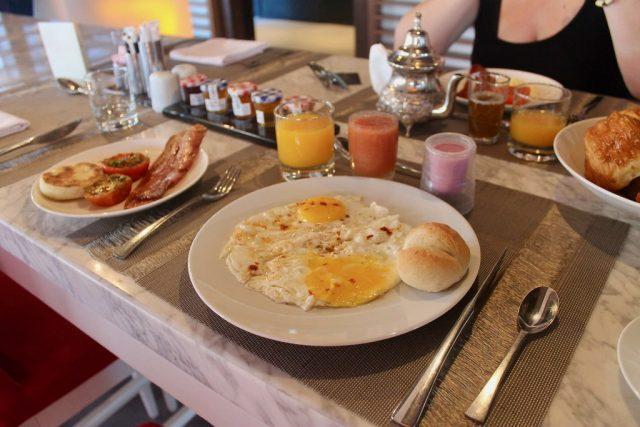 Desayuno Sofitel Essaouira Mogador Golf & Spa