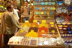 Especias Bazar Egipcio Estambul