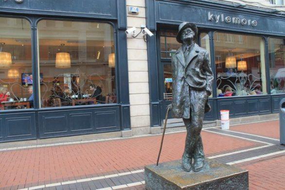 Estatua de James Joyce Dublin