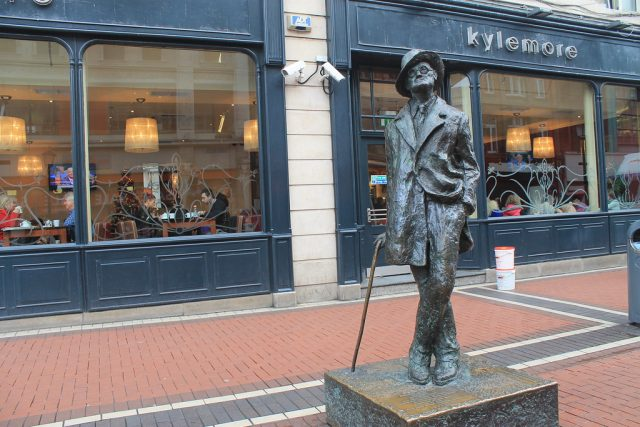 Estatua de James Joyce Dublin