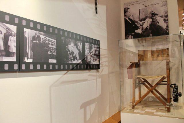 La silla de John Ford en el Museo de Galway