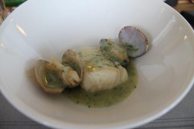Merluza en salsa verde Basque Culinary Center