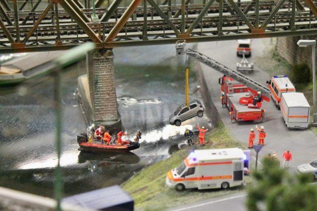 Miniatur Wunderland Accidente