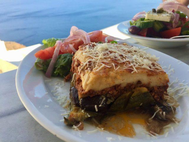 Musaca Restaurante Niki Santorini