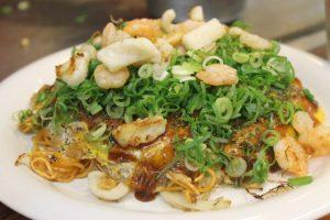 Okonomiyaki Hiroshima Japon