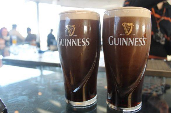 Pintas Guinness Storehouse Dublin