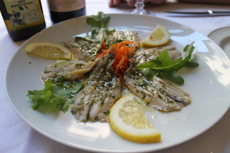 Sardinas marinadas Florencia