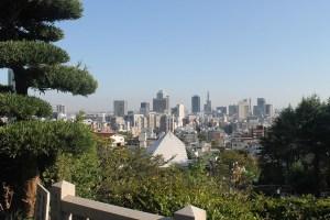 Skyline Kobe Japón