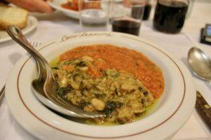 Zuppe tipeche Fiorentini Coco Lezzone Florencia