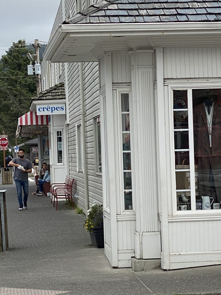 Crepes in Cannon Beach