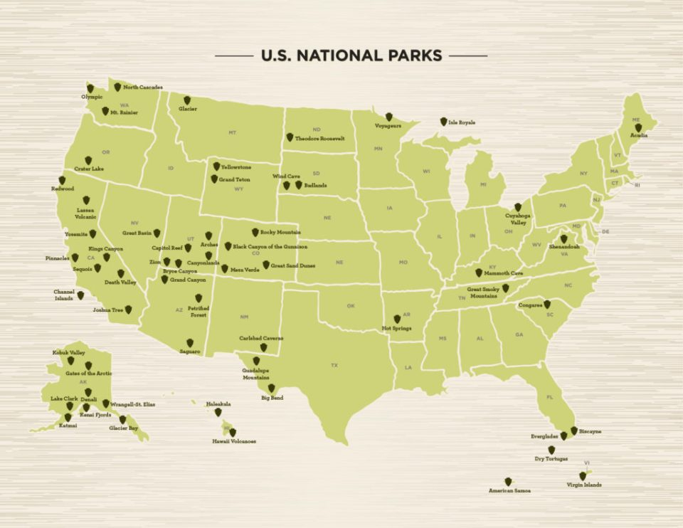 Four US National Parks You Might Not Have Thought of Visiting Before Now