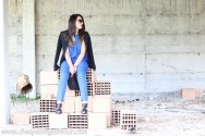 shooting fashion outfit blogger