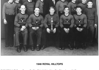 1948 Royal Hilltops – Team