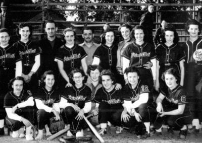 1950 Prince Albert Blue Jays Softball – Team