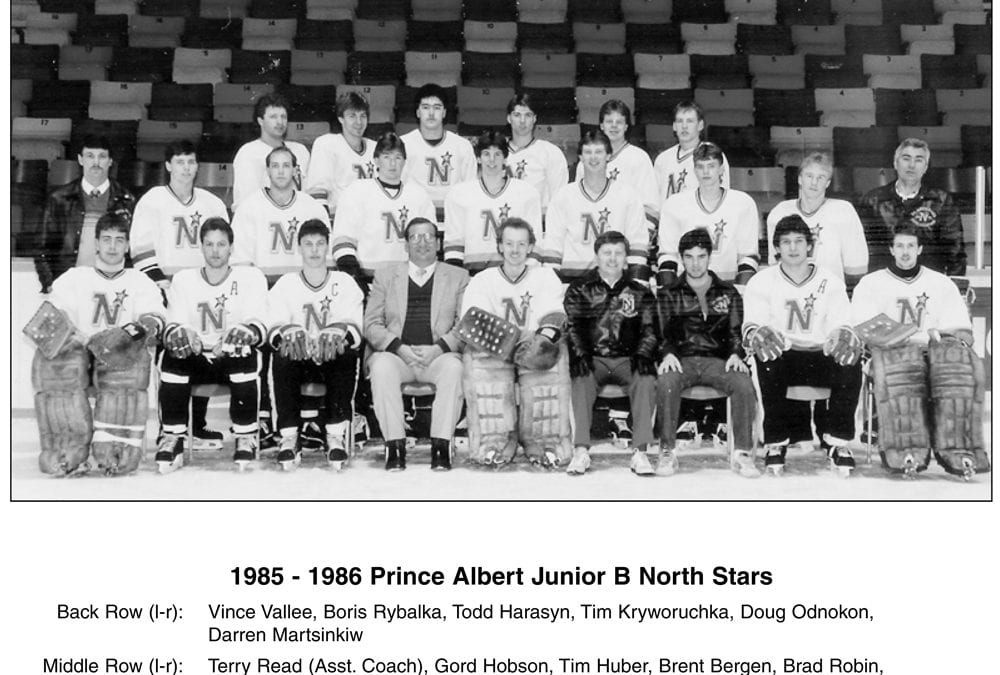 1985 & 1986 Prince Albert Junior B North Stars – Team