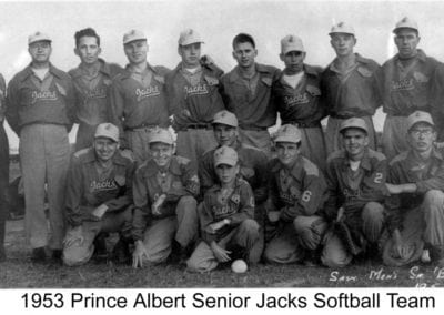 1953 Prince Albert Senior Jacks – Team