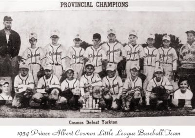 1954 Cosmo Little League – Team