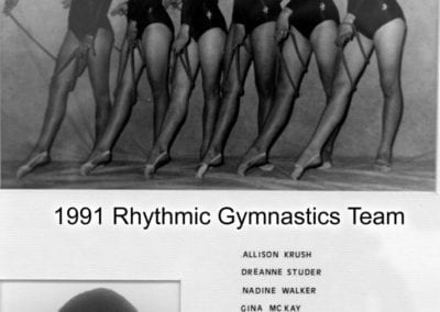 1991 Rhythmic Gymnastics – Team