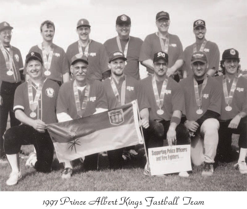 1989, 1991, 1993, 1997 Prince Albert Kings Fastball – Team