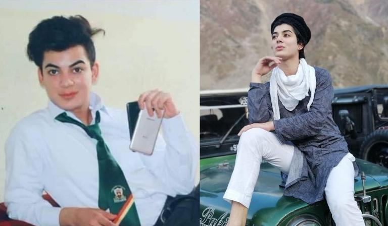 Dolphin Ayan, transgender student at Edwardes College Peshawar