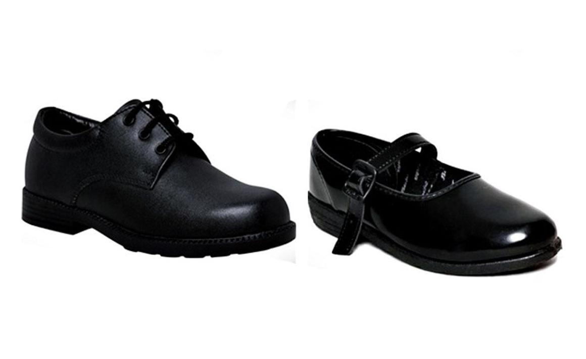 black shool shoes