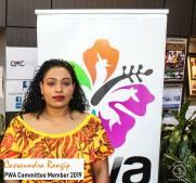 PWA Committee Member -Cassaundra Rangip