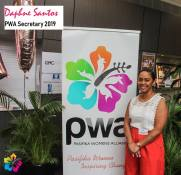 PWA Secretary - Daphne Santos