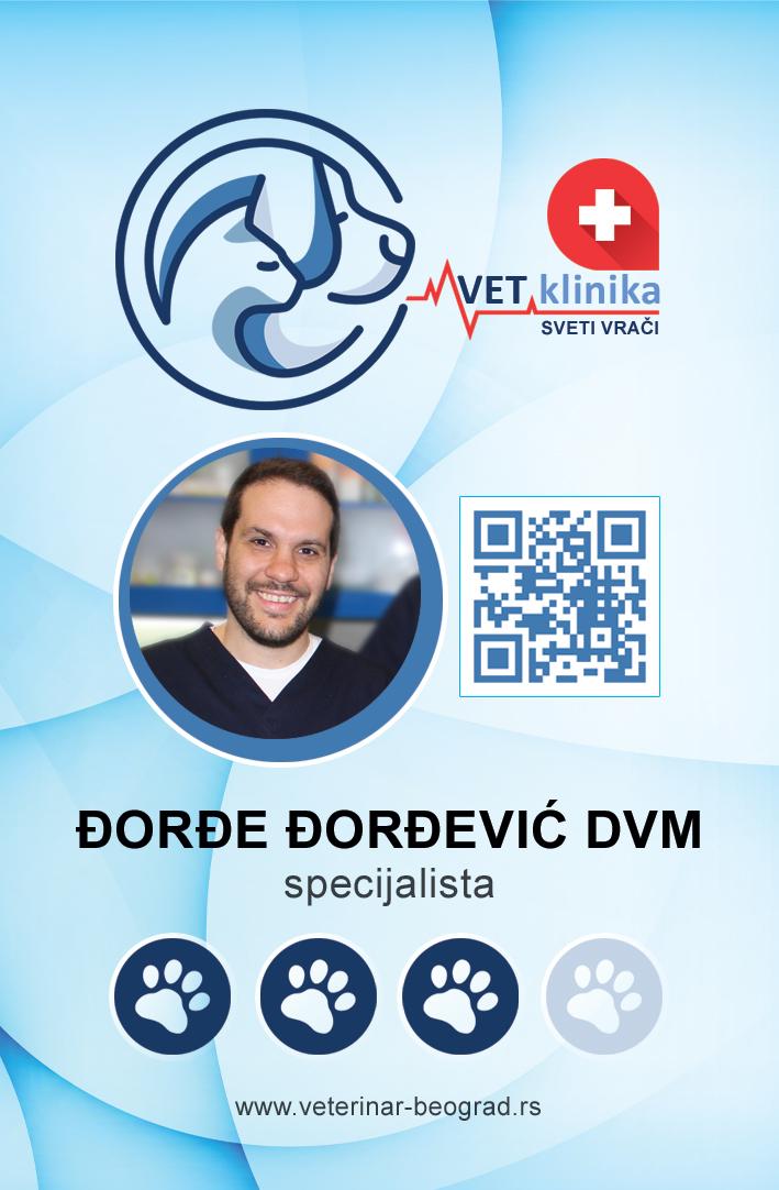 DVM Đorđe Đorđević specijalista